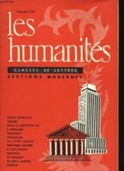 Les Humanites N°42 - Classes De Lettres - Sections Classiques - Couverture - Format classique