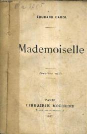 Mademoiselle. - Couverture - Format classique