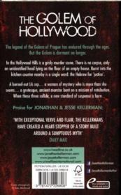 The Golem of Hollywood* - 4ème de couverture - Format classique