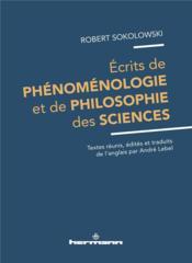 Ecrits de phenomenologie et de philosophie des sciences - Couverture - Format classique