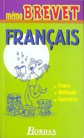 Memo Brevet Francais - Intérieur - Format classique