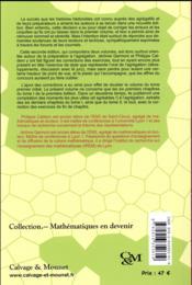 Nouvelles histoires hédonistes de groupes et de géométries t.1 (2e édition) - 4ème de couverture - Format classique