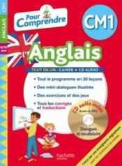 Pour comprendre l'anglais ; CM1 - Couverture - Format classique