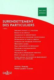 Surendettement des particuliers (3e edition) - Intérieur - Format classique