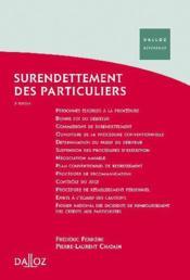 Surendettement des particuliers (3e edition) - Couverture - Format classique