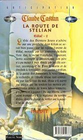 Route De Stelian - 4ème de couverture - Format classique