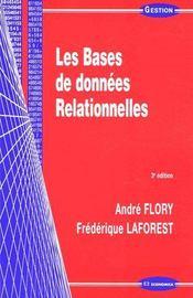 Les bases de données relationnelles - Couverture - Format classique