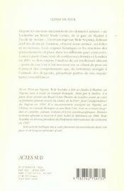 Climat De Peur - 4ème de couverture - Format classique