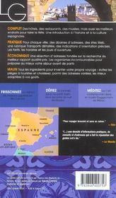 *Espagne (édition 2004) - 4ème de couverture - Format classique