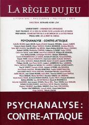 La règle du jeu N.30 ; psychanalyse contre-attaque - Intérieur - Format classique