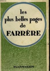 Les Plus Belles Pages De Farrere. - Couverture - Format classique