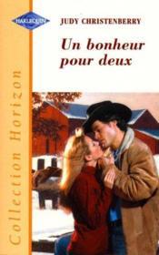 Un Bonheur Pour Deux - Snowbound Sweetheart - Couverture - Format classique