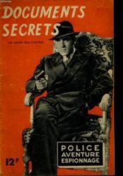 Police Aventure Espionnage - Documents Secrets - Couverture - Format classique