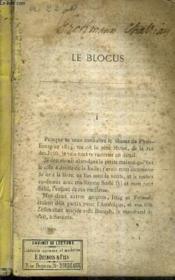 Le Blocus. - Couverture - Format classique