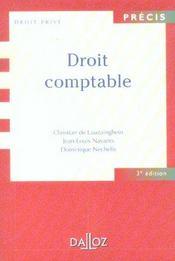 Droit comptable - 3e ed. (3e édition) - Intérieur - Format classique