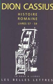 Histoire romaine l57-59 - Intérieur - Format classique
