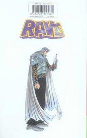 Rave t.25 - 4ème de couverture - Format classique