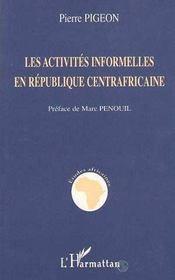 Les activités informelles en république centrafricaine - Intérieur - Format classique