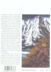 Les chroniques d'Arcturus t.6 ; lance de Lughern - 4ème de couverture - Format classique