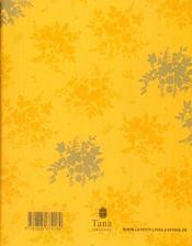 Le petit livre à offrir à un diner à la place d'un bouquet de fleurs (parce que les fleurs, c'est périssable) - 4ème de couverture - Format classique
