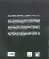 Magnum cinéma - 4ème de couverture - Format classique