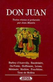 Don Juan - Couverture - Format classique