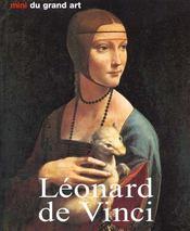 Les Minis Du Grand Art ; Leonard De Vinci - Intérieur - Format classique