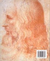 Les Minis Du Grand Art ; Leonard De Vinci - 4ème de couverture - Format classique