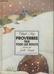 Collection Enfantimages. Proverbes Par Tous Les Bouts. - Couverture - Format classique