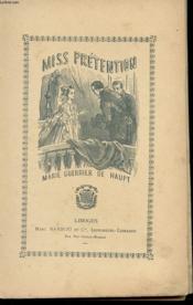 Miss Pretention - Couverture - Format classique