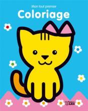 Mon tout premier coloriage le chat - Couverture - Format classique