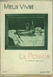 Mieux Vivre N°7 - Le Poisson - Couverture - Format classique