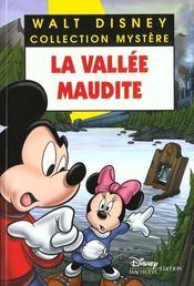 La vallee maudite - Intérieur - Format classique