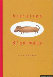 Histoires D'Animaux - Couverture - Format classique