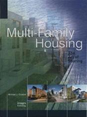 Multi Family Housing /Anglais - Couverture - Format classique