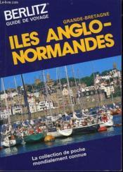 Iles Anglo Normandes - Couverture - Format classique