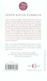 Journal D'Un Poete Marie - 4ème de couverture - Format classique