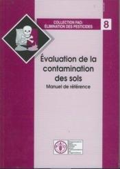Évaluation de la contamination des sols, manuel de référence - Couverture - Format classique