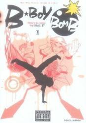 B-boy bomb t.1 - Couverture - Format classique