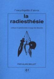 La radiesthésie - Couverture - Format classique