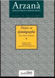 Poésie et épistolographie dans l'Italie médiévale - Couverture - Format classique