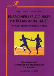 Enseigner la course de haies, le relais en milieu scolaire - Intérieur - Format classique