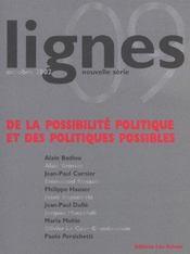 Lignes 09 - Intérieur - Format classique