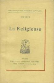 La religieuse - Couverture - Format classique