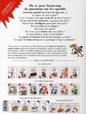 Le guide des sportifs en BD ! - 4ème de couverture - Format classique