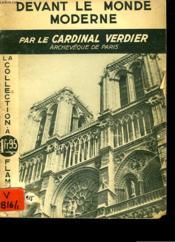 Devant Le Monde Moderne. La Collection A 1fr95. - Couverture - Format classique