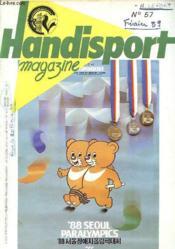 HANDISPORT MAGAZINE 26e ANNEE N°57 - Couverture - Format classique