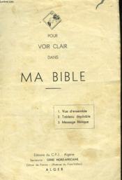 Pour Voir Clair Dans Ma Bible - Couverture - Format classique