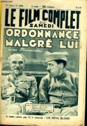 Le Film Complet Du Samedi N° 1310 - 12e Annee - Ordonnace Malgre Lui - Couverture - Format classique