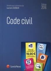 Code civil (édition 2016) - Couverture - Format classique